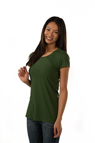 ONNO Women's Bamboo T-Shirt XL Moss Green