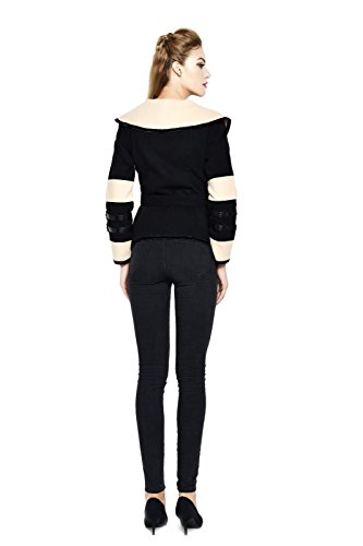Darshion Women's Winter Bodycon Jacket Casual Long Sleeve Elegant Coat Outwear X-Large Apricot