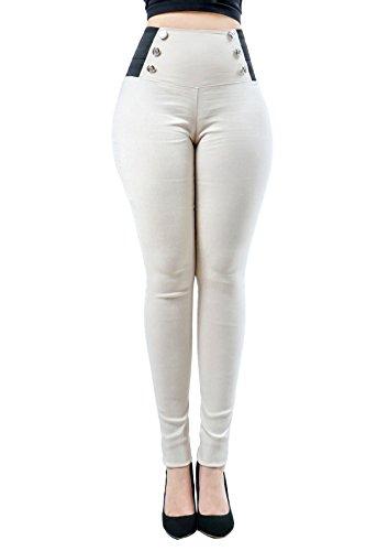 View All Dresses Designer (Women's New Stylish Button Design High Waist Trendy Dress Pants)