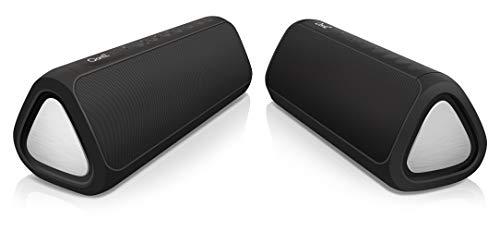 Cambridge SoundWorks OontZ Angle 3XL Ultra Bluetooth Speaker, Two Speaker Edition, Deep Rich Bass, 24 Watts for Max Volume, 100 ft Wireless Range, Play Two Together, Bluetooth Speakers Dual Black
