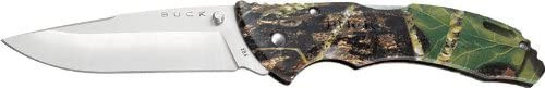 Buck 286 BHW Large Bantam Camo Folding Hunting Knife Camo