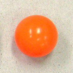 ガラポン抽選器用玉 100球セット オレンジ色