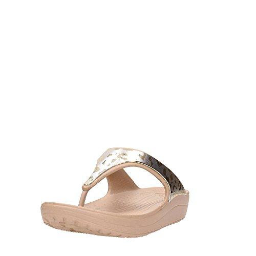 Sloane Dore Crocs Metallic dore Croslite Flip Graphic TwSqFcdS