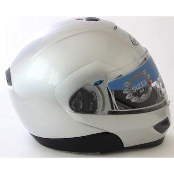 Vemar moto casco modelo JIANO tamaño XL plata