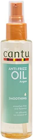 Hair Styling: Cantu Anti-Frizz Oil