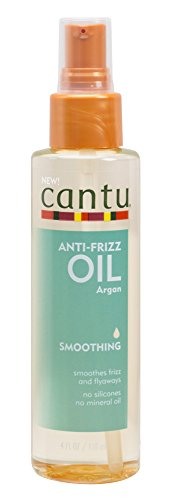 Cantu Anti Frizz Smoothing Oil, 4 Fluid Ounce (Cantu Natural Hair Leave In Conditioning Cream)