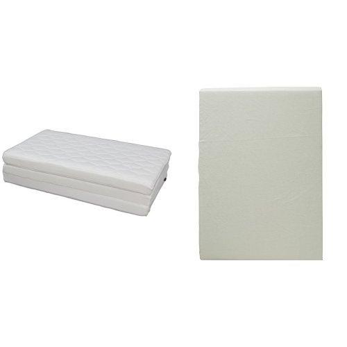 【セット買い】アイリスオーヤマ エアリーマットレス ハイグレード 厚み9cm セミダブル ホワイト HG90-SD + ボックスシーツ日本製 綿100% ブロード生地 通気性 セミダブル フレッシュグリーン B0751KLVZ1