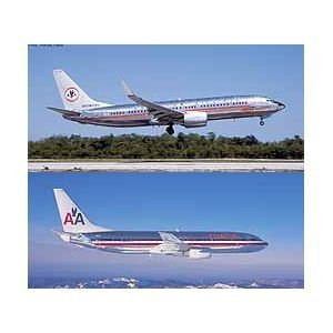 Used, Hasegawa 1/200 American Airlines B737-800 Combo (Contain for sale  Delivered anywhere in USA