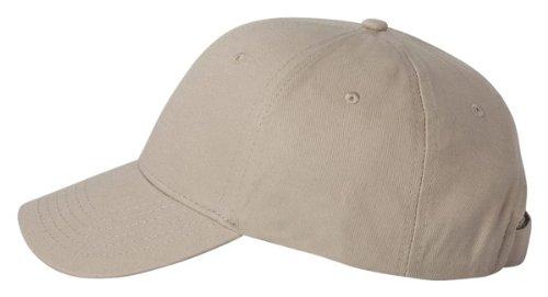 Valucap Lightweight Chino Cap, Khaki, ADJ