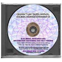Bmv Quantum Subliminal Cd Research Aid  Information Gathering And Fact Finding  Ultrasonic Subliminal Series