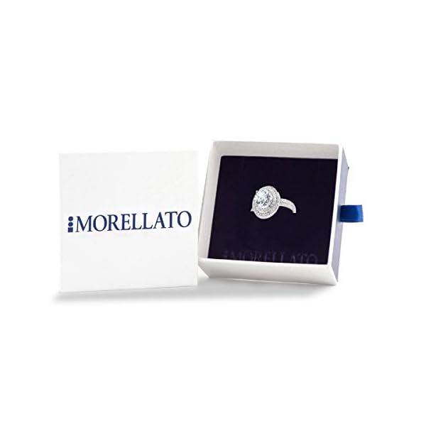 Morellato Anello da donna, Collezione Tesori, in argento 925, zirconi – SAIW08018