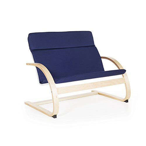 Guidecraft Nordic Couch Blue G6452 Guidecraft Blue Rocker