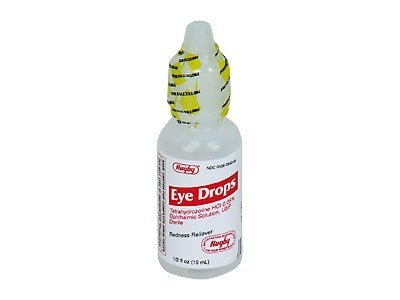 Redness Reliever Eye Drops, Case of 48