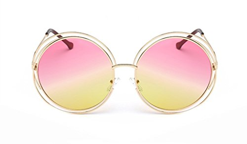 The Metal Round Frame Color Film Sunglasses For - Most Frames Eyeglass Popular 2014