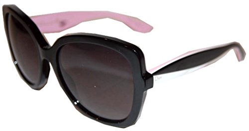 Dior LWR Black White Pink Envol2 Square Sunglasses Lens Category - Eyeglasses Authentic Cartier