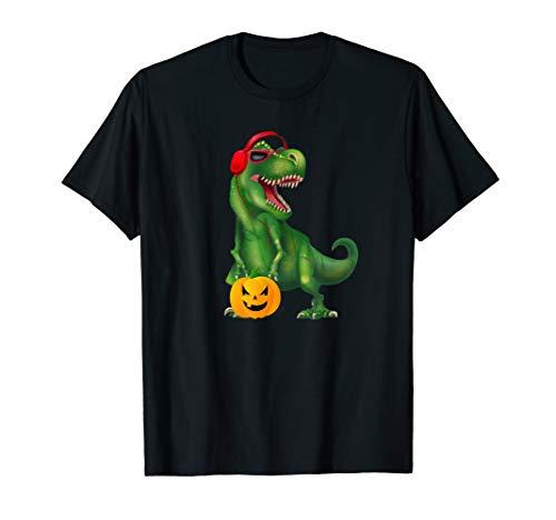T Rex Halloween Costume Funny Tshirt 2019 Pumpkin Rex Tees T-Shirt