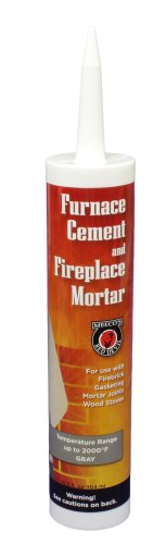 MEECO'S RED DEVIL 121 Furnace Cement and Fireplace Mortar (Tube Furnace Ceramic)