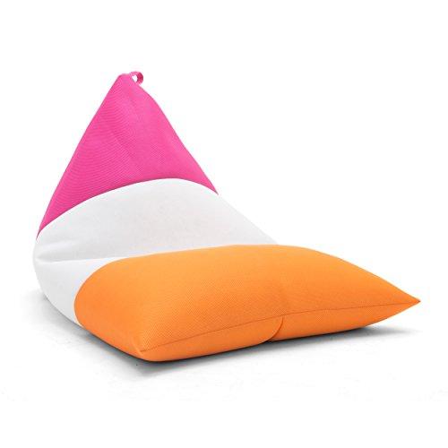 Big Joe Pretzel Float Accessories for Kids, Orange/White/Pink Mesh