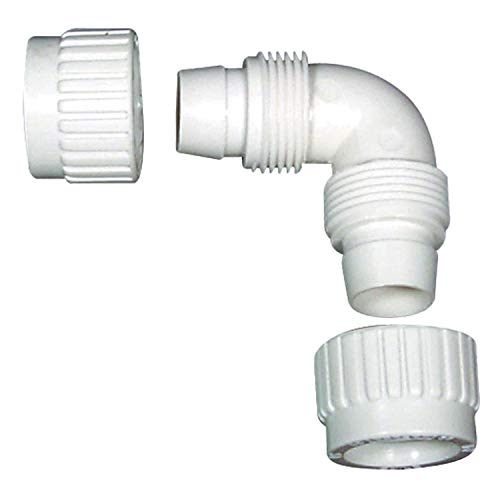 "Flair-It 16800 Plastic Elbow, 0.5"" Size"