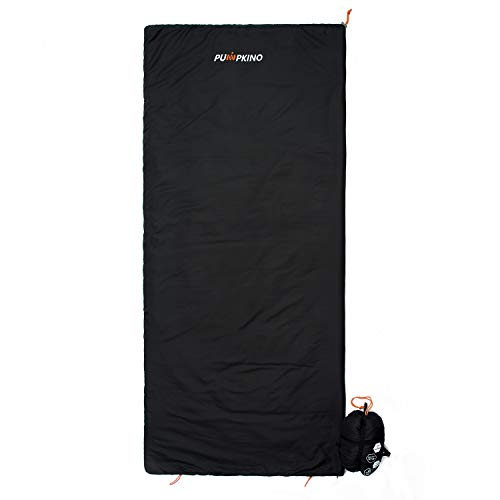 Ultra Lightweight Sleeping Bag - Large, Soft & Ultralight Travelling, Camping, Backpacking & Hiking Companion, Hot Weather Sleeping Bag for Adults, Kids & Teens with Compression Sack