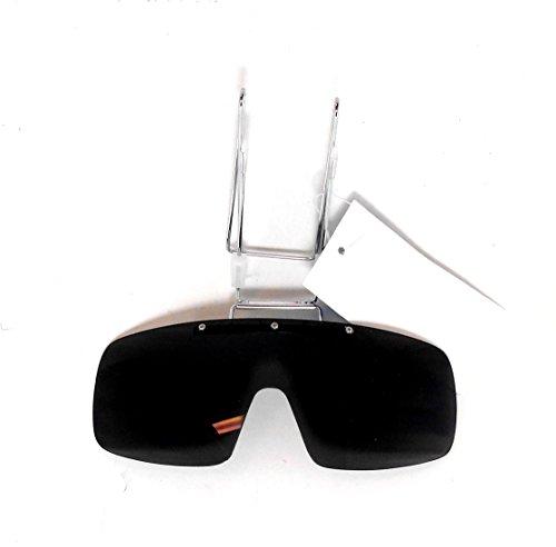 Visor Vision Clip on Sunglasses Smoke Lens & Clips on Your Ball - Sunglasses Cap