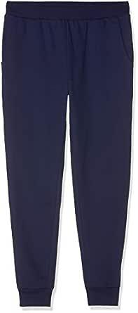 find. Pantalones Estilo 'Jogger' de Tacto Suave para Hombre, Azul (Navy), (Talla del fabricante: Medium)