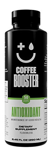 Maintenance of Good Health! Coffee Booster ANTIOXIDANT Liquid Supplement. 20x The antioxidants of Green Tea. 8.45 - Antioxidant Booster