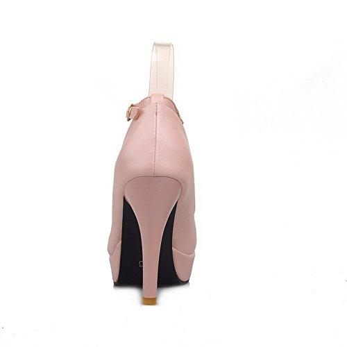 Heighten Zipper Balamasa Pelle In Inside Pumpsshoes Imitato Donna Da EOAwCAqB