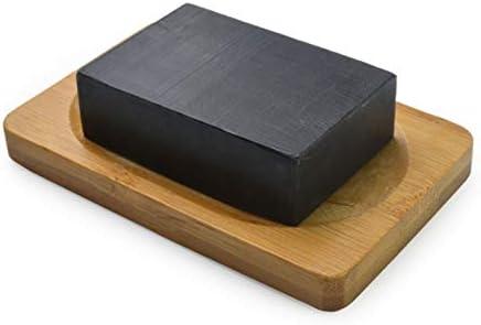 Jabón De ácido Kójico Para Aclarar La Piel Pura, Limpiador Para Aclarar La Piel, Aclarador Natural, Repele La Piel De Color Amarillo Oscuro, Ilumina Y Blanquea (Carbone di bambù)