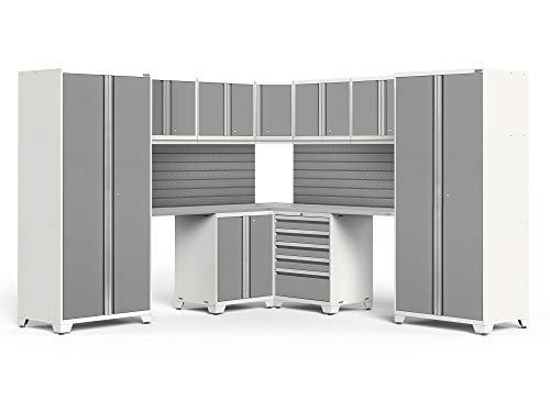 NewAge Products Pro 3.0 White 12 Piece Set, Garage Cabinetry, 59898