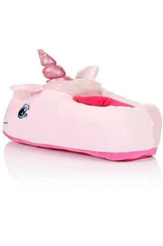 Rose antidérapant Accueil Souples Chaussures pour Licorne Tailles 42 Pantoufles Léger ZZYOU Ultra Chausson européennes Chaussons 39 EnZqgz