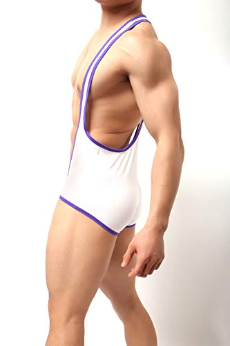 WOWHOMME Shapewear Tops Tank Bodysuit Leotard Swimwear Mens Underwear Wh40