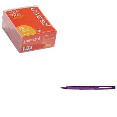KITPAP8450152UNV48023 - Value Kit - Paper Mate Point Guard Flair Porous Point Stick Pen (PAP8450152) and Universal Important Message Pink Pads (UNV48023)