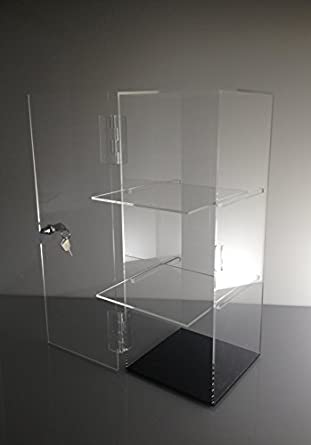 Tu0027z Tagz Brand Acrylic Lucite Showcase Jewelry Pastry Bakery Counter  Display W/door