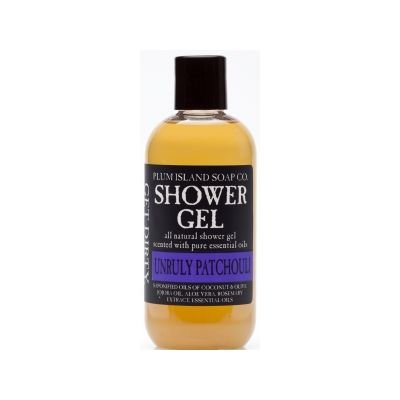 Plum Island Shower Gel Unruly Patchouli - Natural Shower Gel Soap made in New England