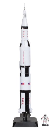 Daron Space Adventure Saturn V Rocket Model Playset
