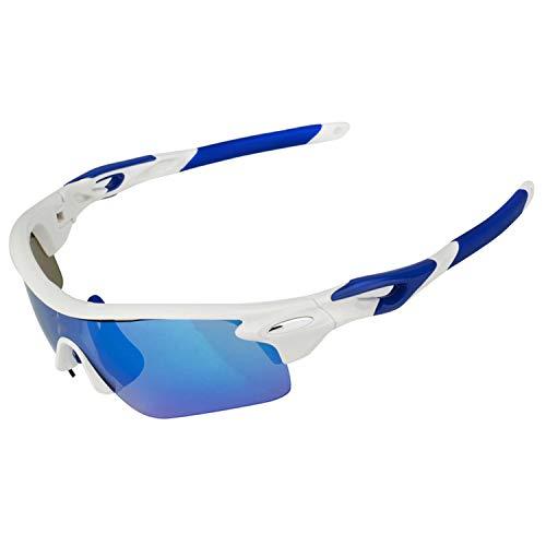 Brand Cycling Glasses Sets Ski Goggles Mask Snowboarding Ski Helmet Mate Fast Moto Bike Fishing Hunting Eyewear,Blue