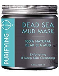 O Naturals Dead Sea Mud Mask – 100% Natural Vegan Purifying Face & Body Mask for Treating Acne, Exfoliating, Deep Skin Cleansing, Hydrating, Reducing Wrinkles. Enriched with Aloe Vera. 8.45 ()
