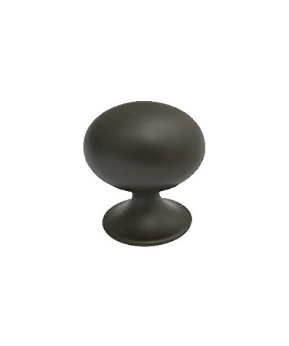 Football Knob in Oil Rubbed Bronze (Set of (Oil Rubbed Bronze Football Knob)
