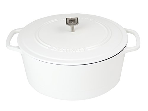 Marquette Castings 4 qt. Cast Iron Dutch Oven Matte White