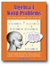 Algebra Word Problems, Book 1