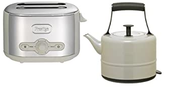 PRESTIGE 15 LITRE TRADITIONAL ALMOND KETTLE 54314 2 SLICE TOASTER 54779