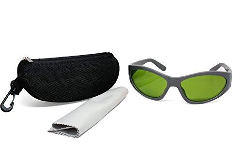 LP-LaserPair Laser Safety Glasses 800 – 1100nm,Diode Laser, Nd:yag Laser Safety Glasses Multi Wavelength Laser Protective Goggles for Laser Technician,Industry Laser Safety by LP-LaserPair (Image #1)