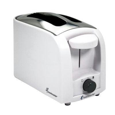 Toastmaster T210 Cool Touch 2-Slice Toaster, White