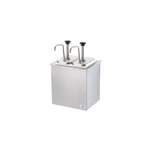 Server Products 79950/SB-2DI Insulated Drop-In Bar With S/S Pump
