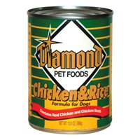 Diamond 24-Pack 13-Ounce Canned Adult Dog Food, Chicken and Rice Flavor, My Pet Supplies