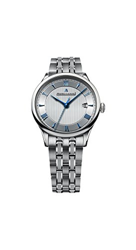 Maurice Lacroix Masterpiece Date Silver Dial Mens Watch MP6407-SS002-111 -