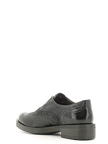 CafèNoir NEB411 Zapato de Vestir Mujer Cuero Negro 39