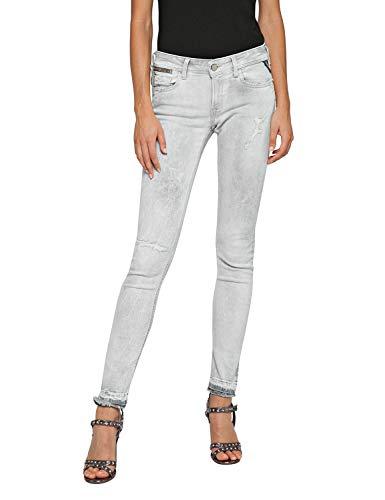 Replay Women's Skinny Fit Luz Jeans Grey in Size 26W 28L