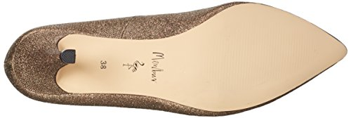 Menbur Women's Toba Closed Toe Heels Gold (Bronze) qqrHF
